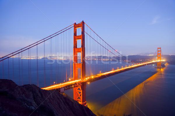 Golden Gate Bridge at Night Stock photo © CrackerClips