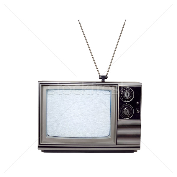 Retro Television - Photo Object Stock photo © CrackerClips