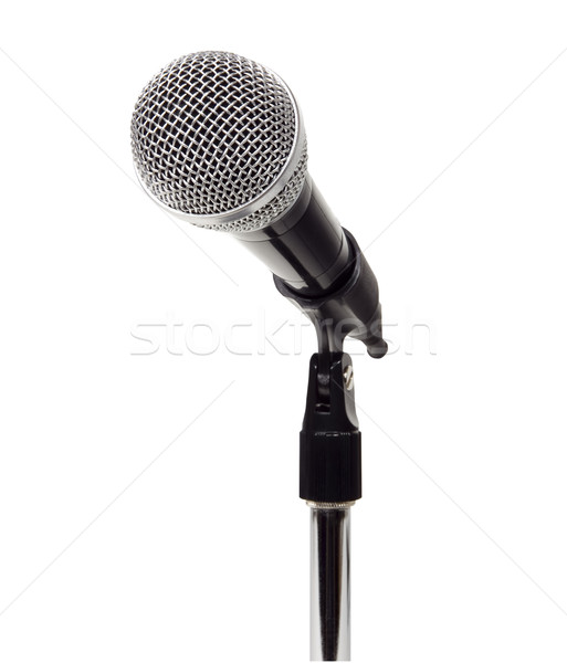 Microphone - Photo Object Stock photo © CrackerClips