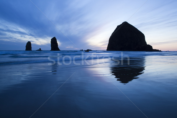 Haystack Rock Stock photo © CrackerClips