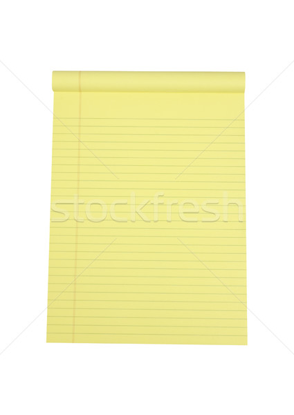 Legal Pad of Paper - Photo Object Stock photo © CrackerClips