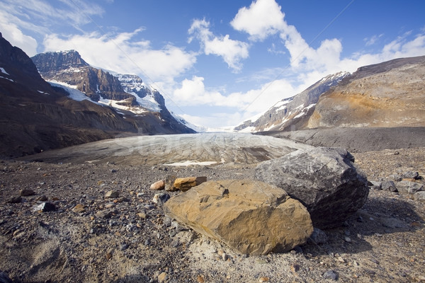 Athabasca Glacier Stock photo © CrackerClips
