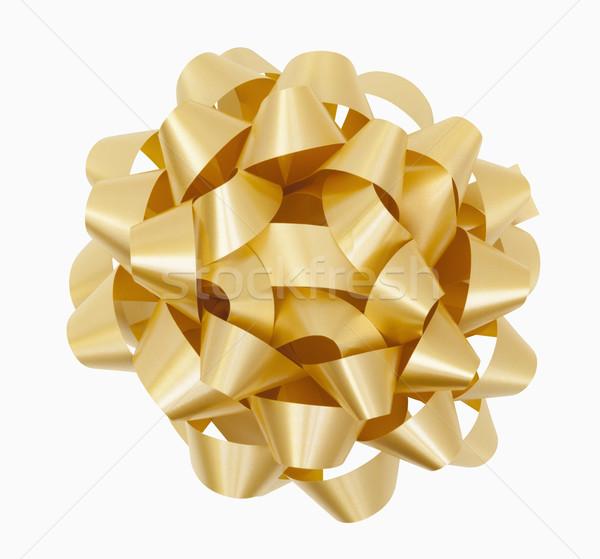 Gold Bow Stock photo © CrackerClips