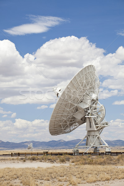 Radio telescoop groot New Mexico Zoek Stockfoto © CrackerClips