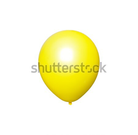Yellow Balloon - Photo Object Stock photo © CrackerClips