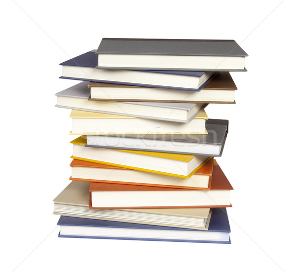 Stack of Books - Photo Object Stock photo © CrackerClips