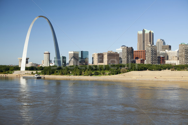 St Louis, skyline photography Stock photo © CrackerClips