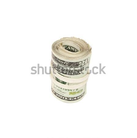 Roll of Money - Photo Object Stock photo © CrackerClips