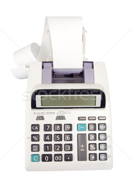 Adding Machine - Photo Object  Stock photo © CrackerClips