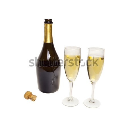 Photo Object - Champagne Stock photo © CrackerClips