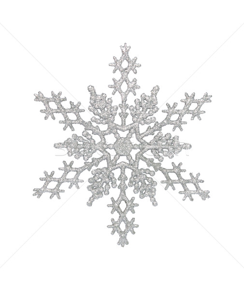 Silver Snowflake Stock photo © CrackerClips