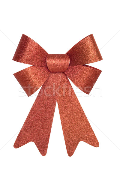 Shiny Red Bow Stock photo © CrackerClips