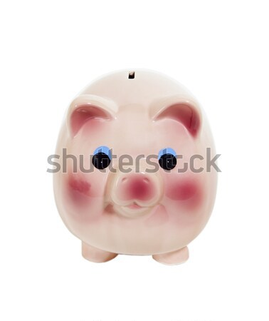Piggy Bank - Photo Object Stock photo © CrackerClips