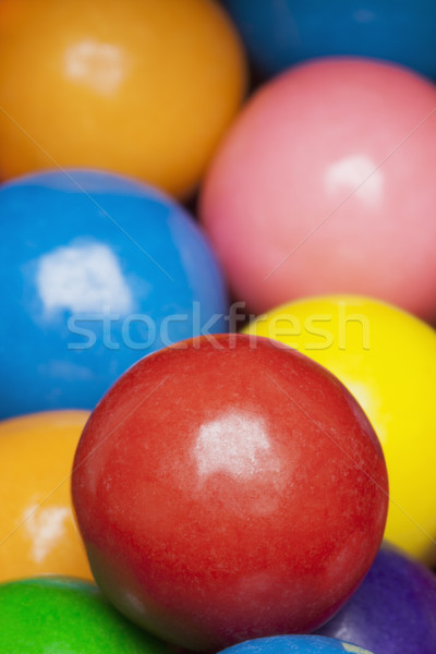 Multi-colored gumballs Stock photo © CrackerClips