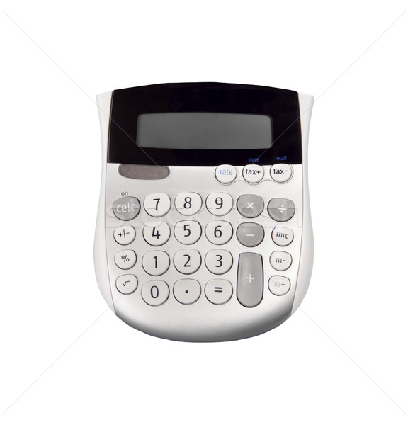 Calculator- Photo Object Stock photo © CrackerClips