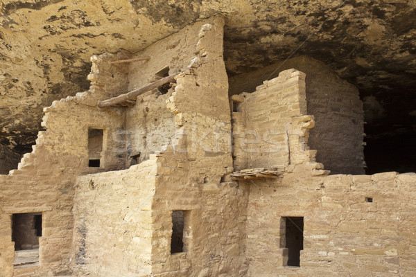 Native american cliff dwelling Stock photo © CrackerClips