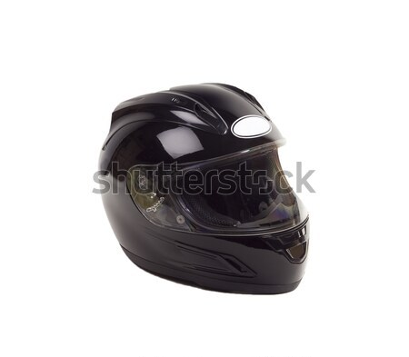 Motorcycle Helmet - Photo Object Stock photo © CrackerClips