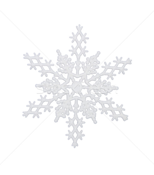 White Snowflake Stock photo © CrackerClips