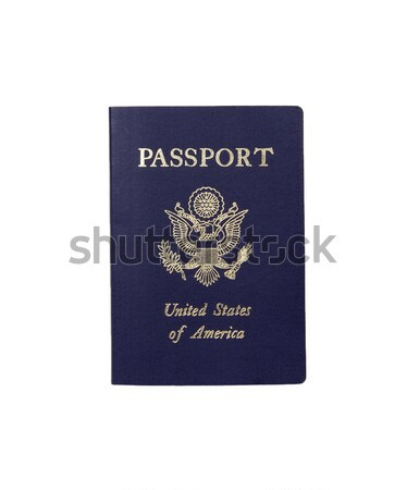 American Passport - Photo Object Stock photo © CrackerClips