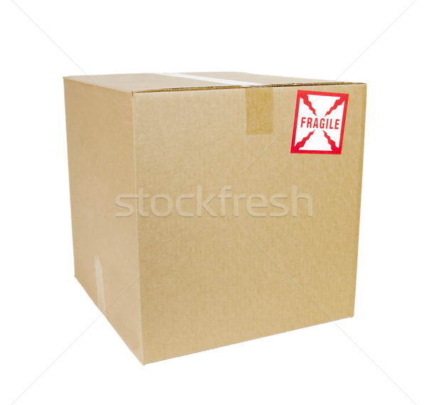 Shipping Box - Photo Object Stock photo © CrackerClips