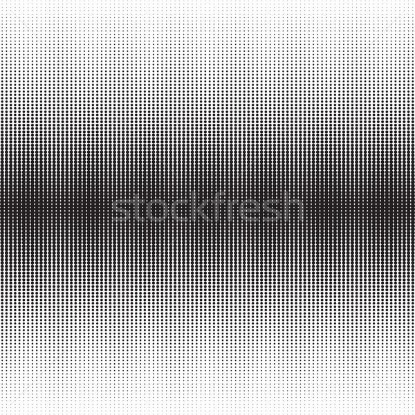 Vertical meio-tom padrão gradiente efeito pontos Foto stock © creativika
