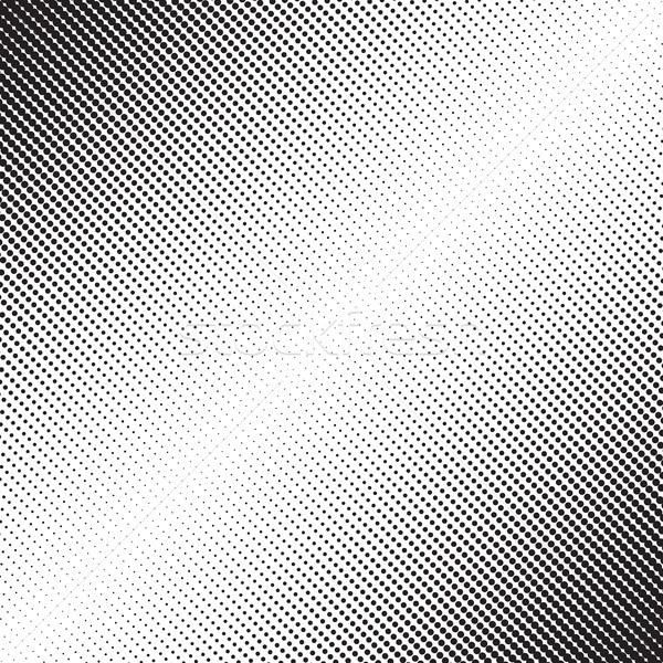 Diagonal Dots Halftone Pattern Stock photo © creativika