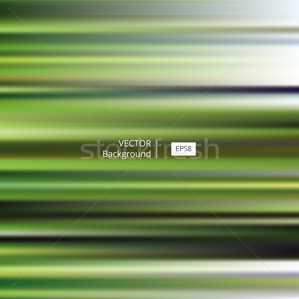 Abstrato verde listrado turva eps8 padrão Foto stock © creativika