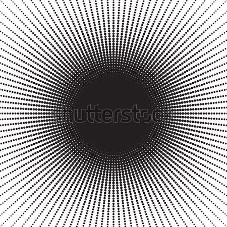 Meio-tom padrão efeitos pequeno pontos preto Foto stock © creativika