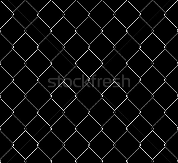 Metallic Wired Fence Seamless Texture Overlay Stock photo © creativika