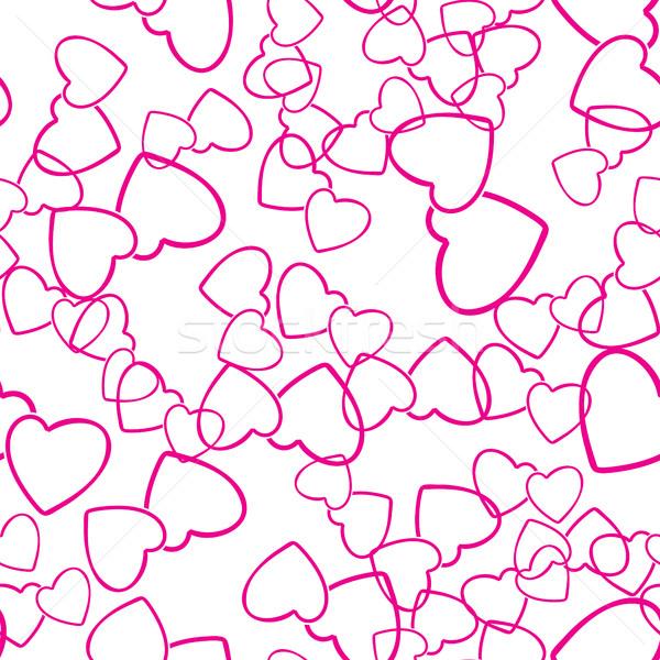 Due cuori amore texture Foto d'archivio © creativika