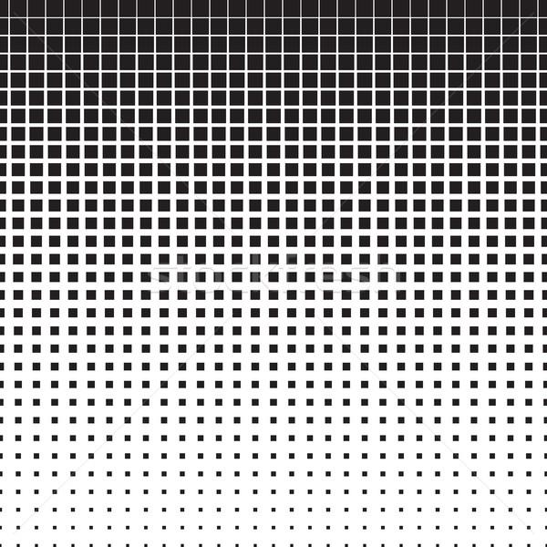 Piazze mezzitoni pattern piazza gradiente effetto Foto d'archivio © creativika