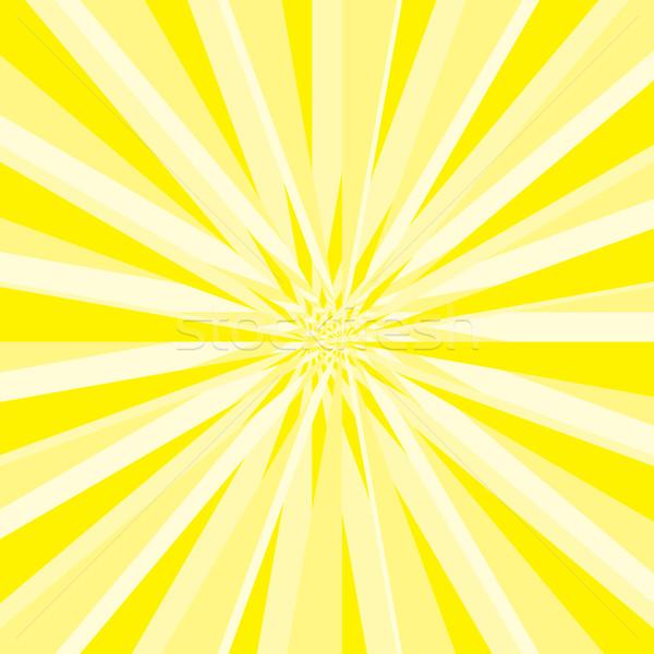 Burst abstract vector background. Stock photo © creativika