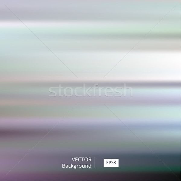 Stock photo: Abstract Colorful Striped and Blurred Background