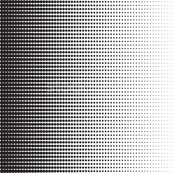 Medios tonos patrón gradiente efecto horizontal Foto stock © creativika