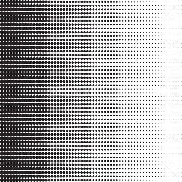 En demi-teinte modèle gradient effet horizontal Photo stock © creativika