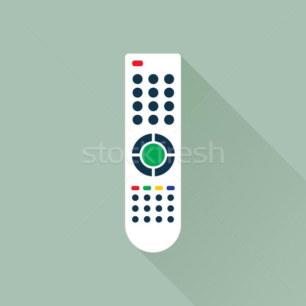 Kontrolle Symbol Fernbedienung Medien Vektor Grafiken