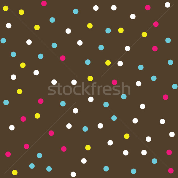 Colorful Donut Glaze Seamless Pattern Stock photo © creativika