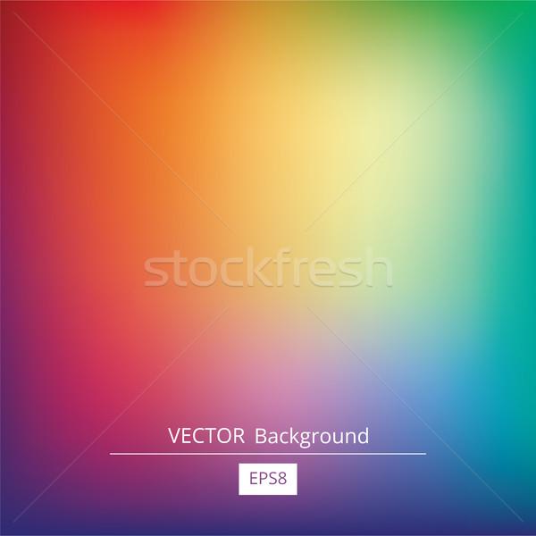 Gradiente colorido vetor brilhante Foto stock © creativika