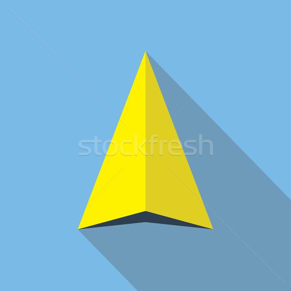 Navegación flecha icono dirección símbolo signo Foto stock © creativika
