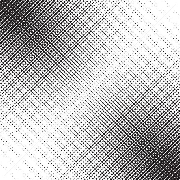 Diagonal Dots Halftone Pattern Stock photo © creativika