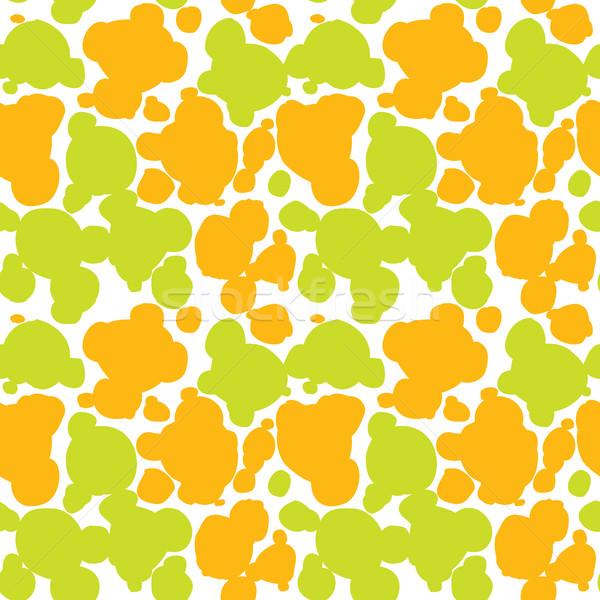 Abstract Spots Seamless Pattern Texture Stock photo © creativika