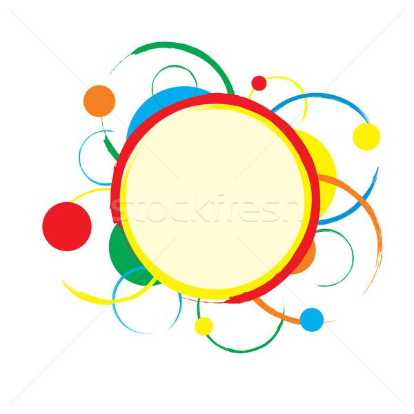 Colorato abstract eps8 formato Foto d'archivio © creativika