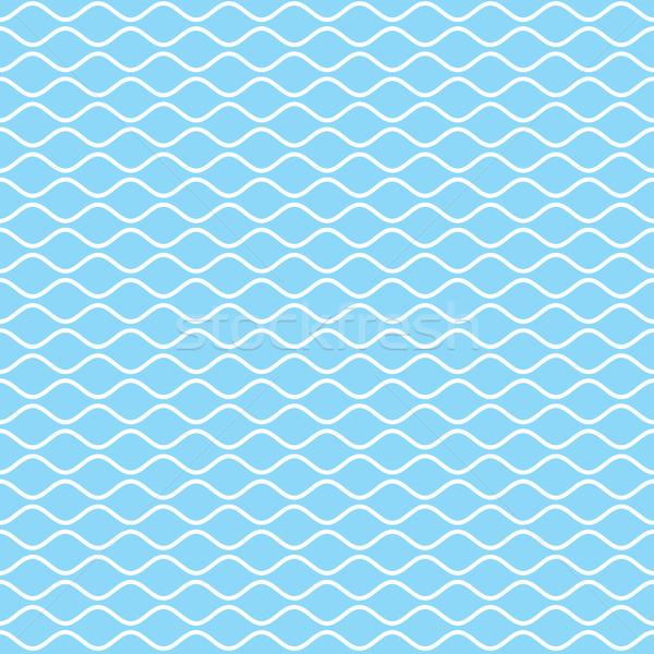 Ondulato linee line bianco onda Foto d'archivio © creativika