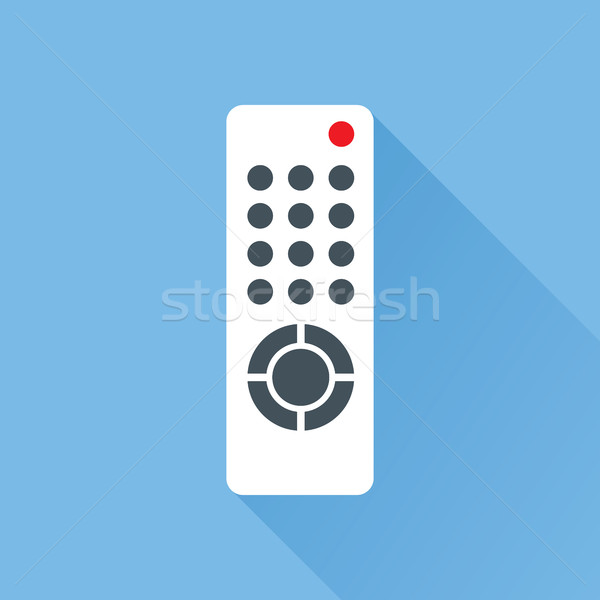 TV Remote Control Flat Icon Stock photo © creativika