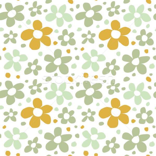 Abstract Flowers Seamless Pattern Texture Stock photo © creativika