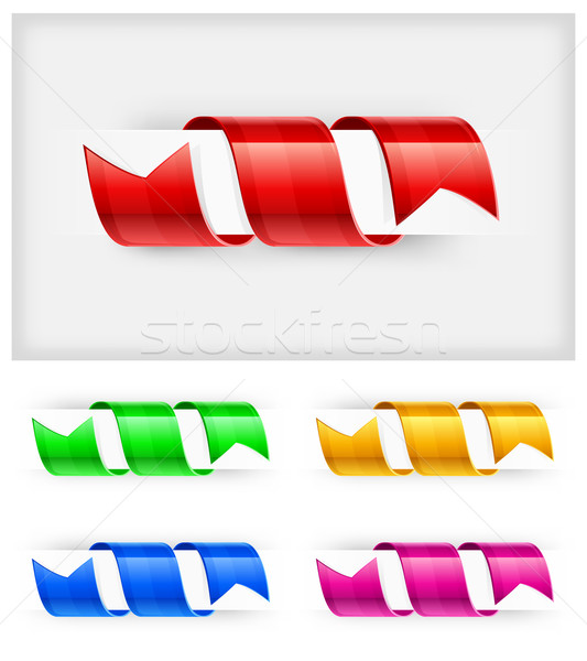 Color bookmark Stock photo © creatOR76