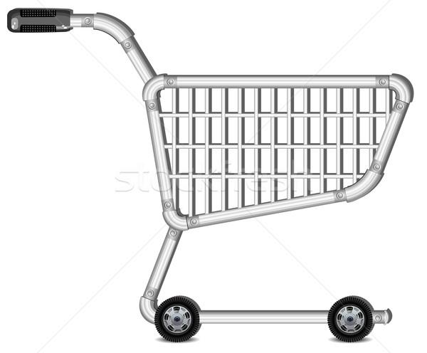 Shopping cart  Stock photo © creatOR76
