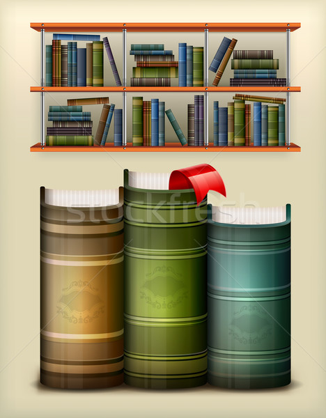 Stack of books  Stock photo © creatOR76