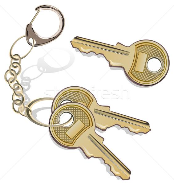 Bunch of keys  Stock photo © creatOR76