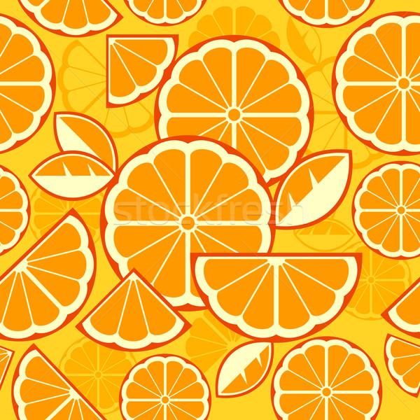 цитрусовые Ломтики желтый дизайна фон лимона Сток-фото © creatOR76